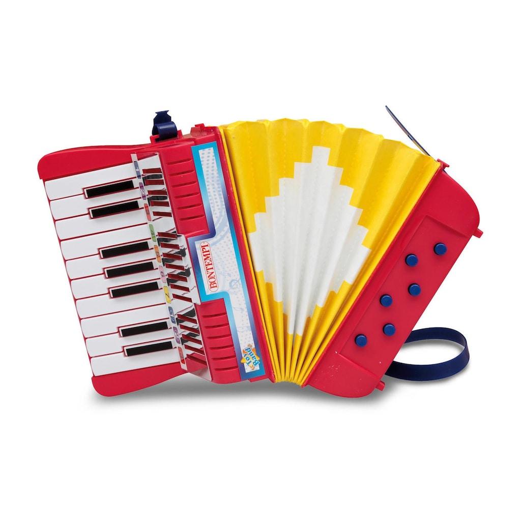 Spielzeug-Musikinstrument »Akkordeon mit 17 Tasten C-E«