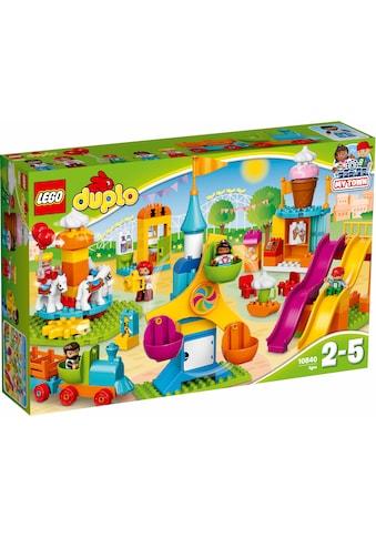 """LEGO® Konstruktionsspielsteine """"Grosser Jahrmarkt (10840), LEGO® DUPLO® Town"""", (106 - tlg.) kaufen"""