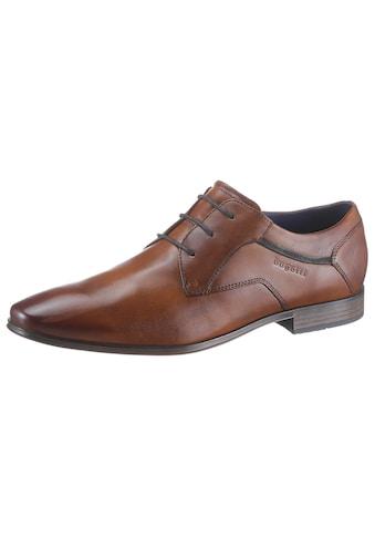 bugatti Schnürschuh »Morino«, mit Handfinish kaufen
