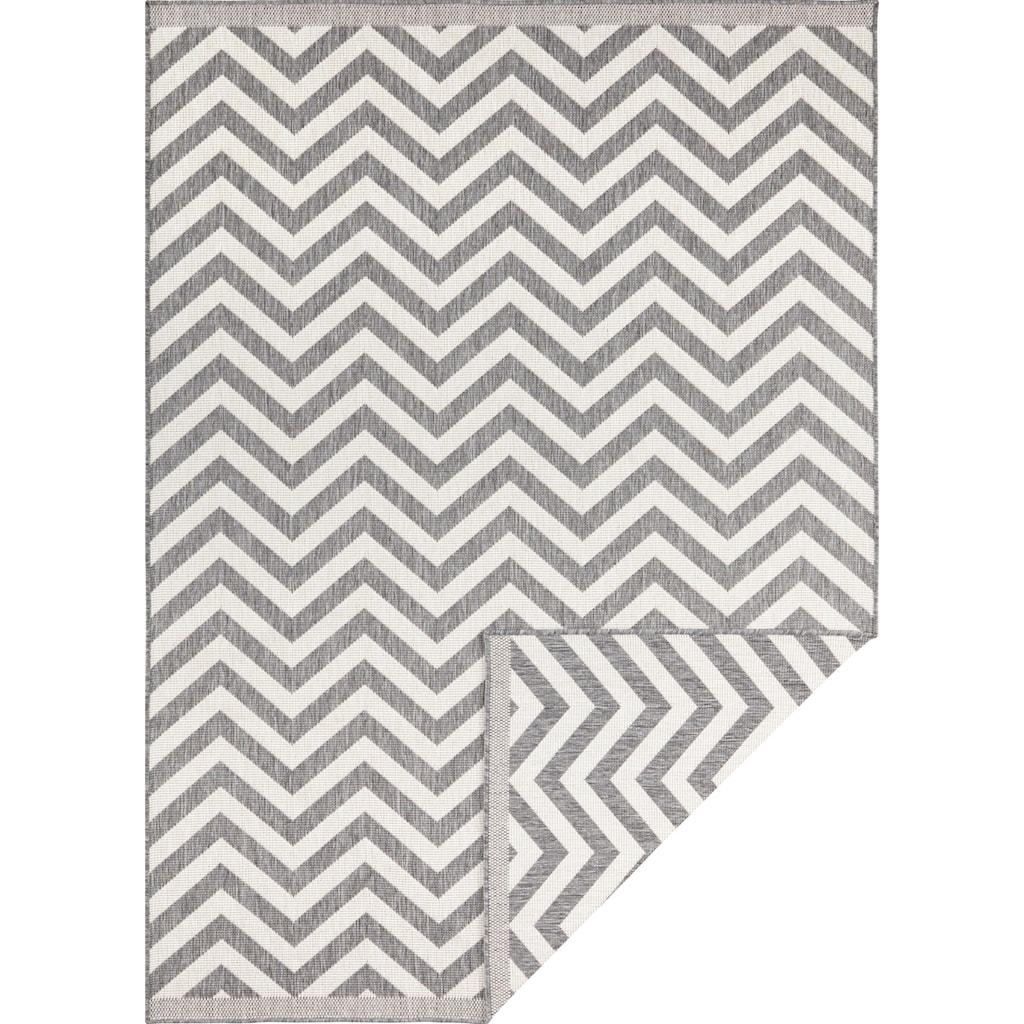 bougari Teppich »Palma«, rechteckig, 5 mm Höhe, In- und Outdoor geeignet, Wendeteppich, Wohnzimmer