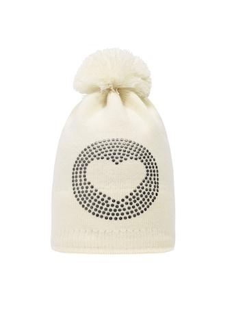 Döll Bommelmütze aus Strick »Heart« kaufen