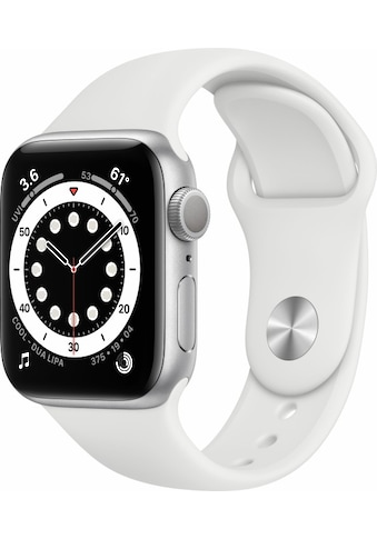 Apple Smartwatch »Watch Series 6 GPS, Aluminium Gehäuse, 40 mm mit Sportarmband«,... kaufen