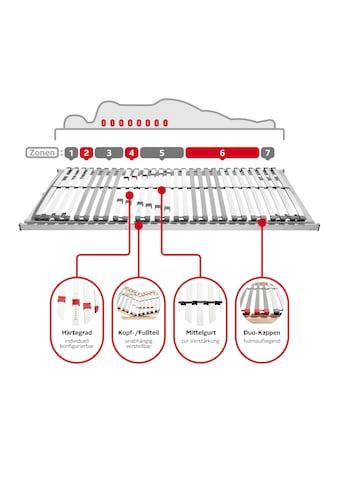 GOODproduct Lattenrost »Sverre KF«, (1 St.), Kopf- und Fussteil manuell verstellbar,... kaufen