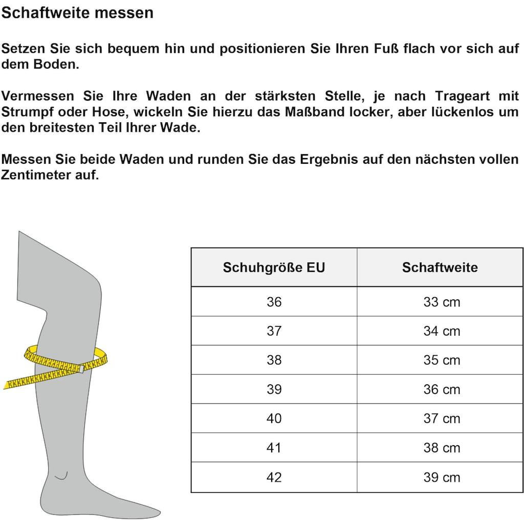 bugatti Stiefel »RONJA«, mit praktischer Anziehlasche
