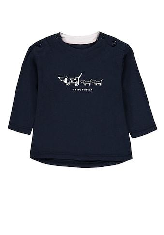 Bellybutton Langarmshirt »Little Dogs«, Marken Print kaufen