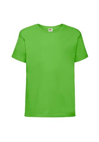 Fruit of the Loom T - Shirt »Kinder Sofspun , Kurzarm, Rundhalsausschnitt« kaufen
