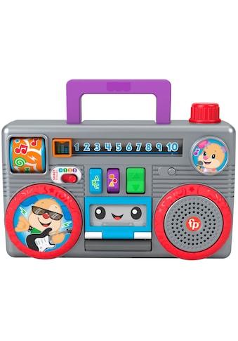 Fisher-Price® Lernspielzeug »Lernspass Boombox«, mit Licht- und Soundfunktion kaufen
