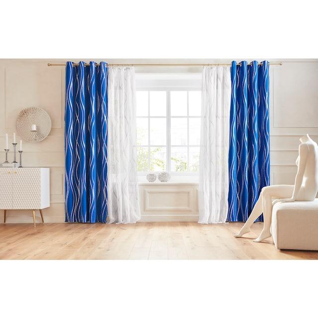 Vorhang, »Prag«, Guido Maria Kretschmer Home&Living, Ösen 1 Stück