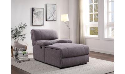 ATLANTIC home collection Loveseat, inklusive verstellbarer Rückenlehne und Stauraum kaufen