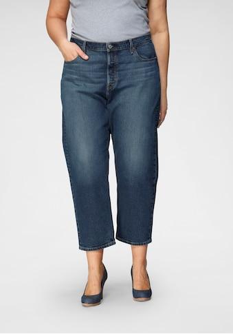 Levi's® Plus Straight-Jeans »501 Crop«, High Waist kaufen