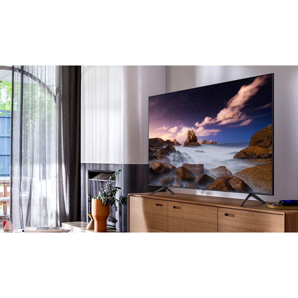 "Samsung QLED-Fernseher »GQ75Q60TGU«, 189 cm/75 "", 4K Ultra HD, Smart-TV"