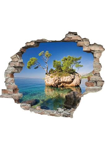 queence Wandtattoo »Insel« (1 Stück) kaufen