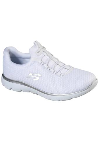 Skechers Slip-On Sneaker »SUMMITS«, mit dezenten Kontrast-Details kaufen