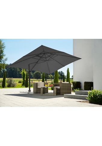 Schneider Schirme Ampelschirm »Rhodos Grande«, Inkl. Schutzhülle mit Schirmständer, ohne Wegeplatten kaufen