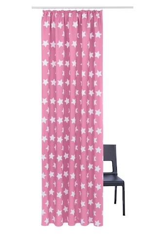 Lüttenhütt Verdunkelungsvorhang »Stern«, bedruckte Kindergardine kaufen