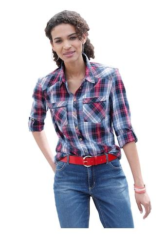 Casual Looks Bluse aus flauschig weichem Flanell kaufen