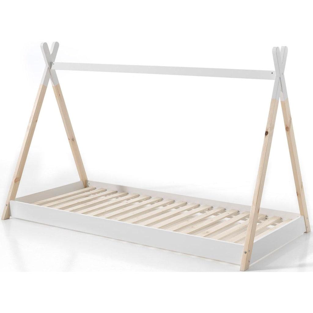 Vipack Kinderbett »Tipi«, mit Lattenrost