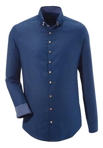 OS - Trachten Trachtenhemd mit Struktureffekt kaufen