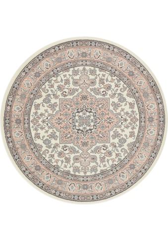 NOURISTAN Teppich »Parun Täbriz«, rund, 9 mm Höhe, Kurzflor, Orient-Optik, Wohnzimmer kaufen