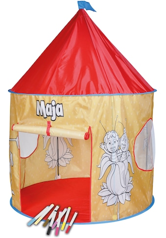 Knorrtoys® Spielzelt »Biene Maja«, mit 10 bunten Stiften kaufen