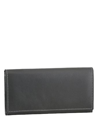 J.Jayz Geldbörse, aus weichem Leder mit Druckknopfverschluss kaufen