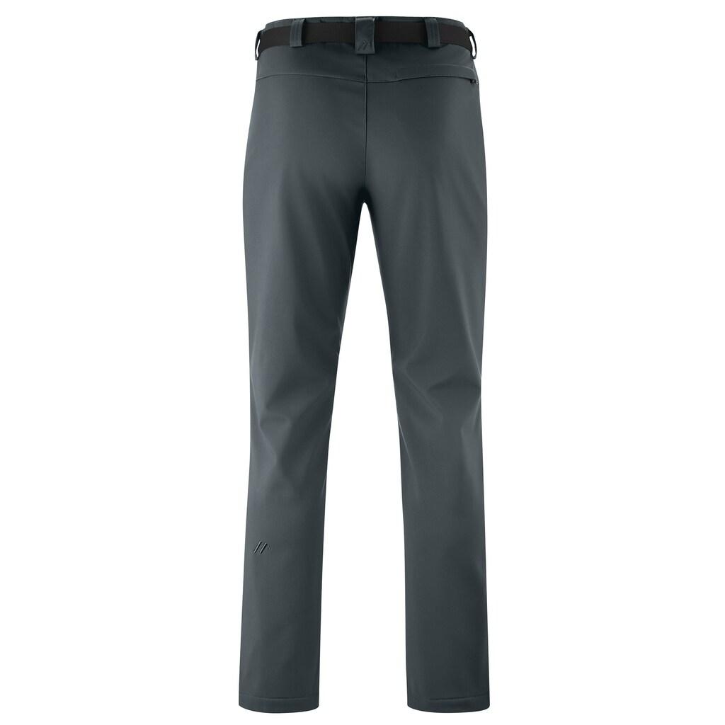 Maier Sports Funktionshose »Perlit M«, Warme Softshellhose, robust, winddicht, elastisch
