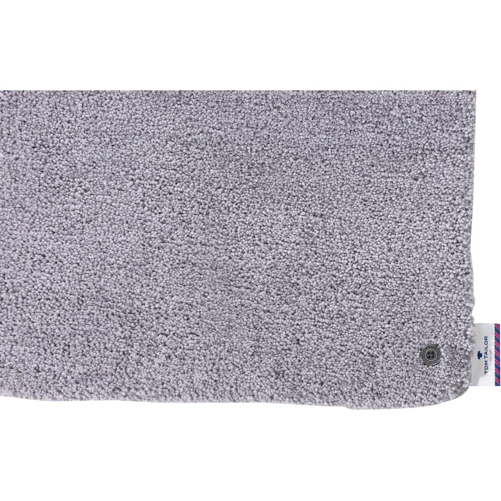 TOM TAILOR Badematte »Soft Bath«, Höhe 27 mm, rutschhemmend beschichtet, fußbodenheizungsgeeignet-schnell trocknend-strapazierfähig, besonders weich, waschbar