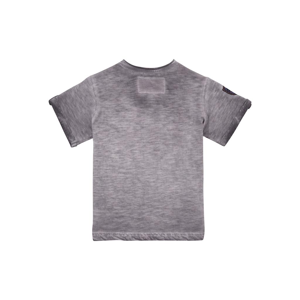 Andreas Gabalier Kollektion Trachtenshirt, Kinder mit rockigem Printmotiv