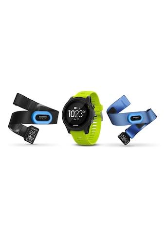 Garmin Fitnessuhr »GPS-Sportuhr Forerunner 935 Bundle Tri Gelb Schwarz«,  kaufen