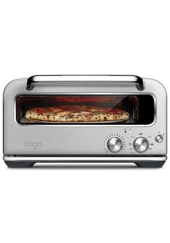 Sage Pizzaofen »Pizzaiolo Silberfarben« kaufen