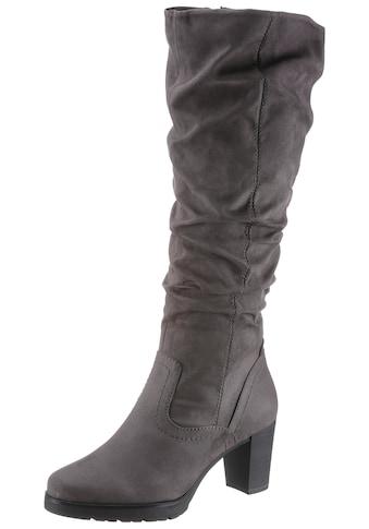 Tamaris Stiefel »Noria«, mit gerafftem Schaft kaufen
