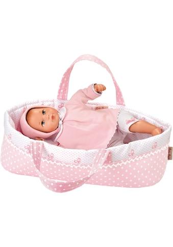 """Käthe Kruse Babypuppe """"Mini Bambina Anna mit Tasche"""" (1 - tlg.) kaufen"""