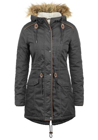 DESIRES Parka »Anna«, warme Jacke mit Kunstfell-Kapuze kaufen