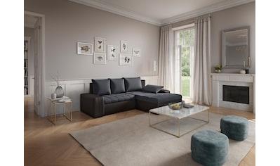 sit&more Ecksofa, inklusive Bettfunktion und Bettkasten, wahlweise in XL oder XXL kaufen