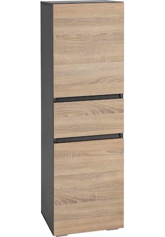 Home affaire Midischrank »Wisla«, Höhe 130 cm, mit Türen & Schubkasten kaufen