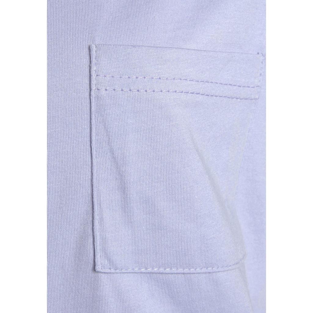 Vivance Dreams Capri-Pyjama, mit gemusterter Schlafhose