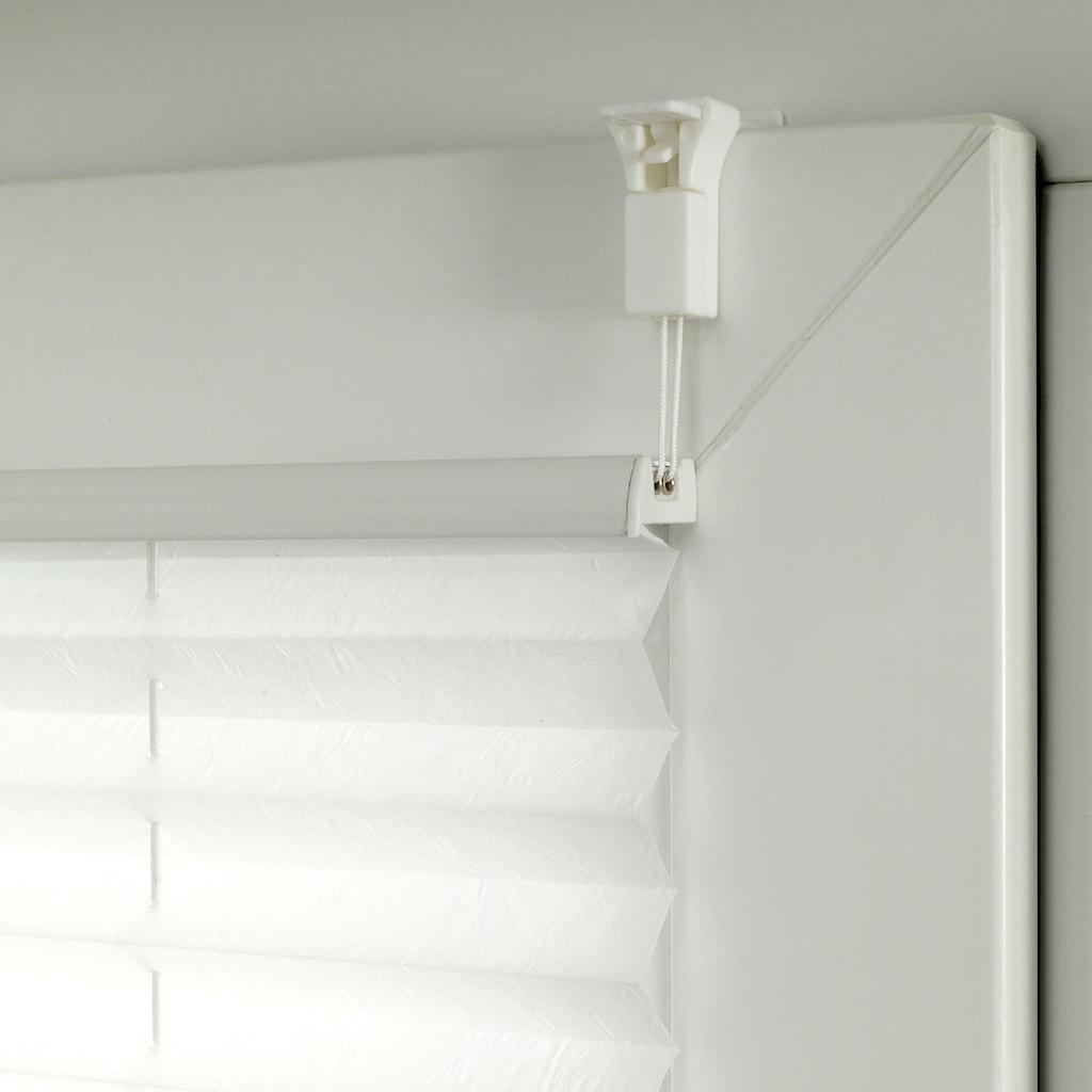 GARDINIA Plissee »EASYFIX Plissee Maja mit 2 Bedienschienen«, Lichtschutz, ohne Bohren, verspannt