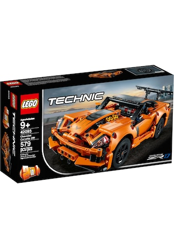"LEGO® Konstruktionsspielsteine ""Chevrolet Corvette ZR1 (42093), LEGO® Technic"", Kunststoff, (579 - tlg.) kaufen"