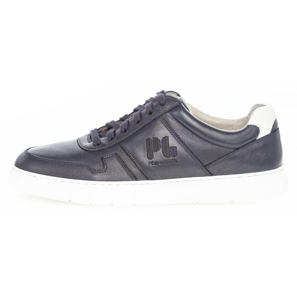Pius Gabor Sneaker, mit kontrastfarbenem Fersenseinsatz