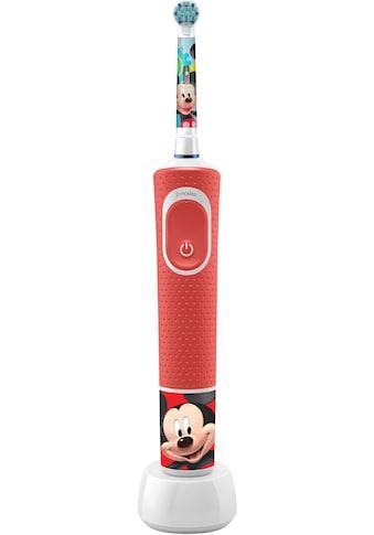 Oral B Elektrische Kinderzahnbürste »Kids Vitality 100 Mickey«, 1 St. Aufsteckbürsten,... kaufen