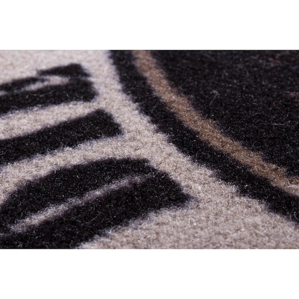 Andiamo Fussmatte »BBQ Grillsaison«, rechteckig, 3 mm Höhe, Fussabstreifer, Fussabtreter, Schmutzfangläufer, Schmutzfangmatte, Schmutzfangteppich, Schmutzmatte, Türmatte, Türvorleger, Grillmatte bzw. Grillunterlage ideal als Bodenschutz, In- und Outdoor geeignet