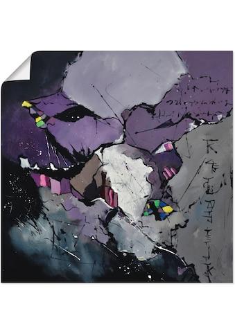 Artland Wandbild »Abstraktes Gemälde«, Muster, (1 St.), in vielen Grössen & Produktarten - Alubild / Outdoorbild für den Aussenbereich, Leinwandbild, Poster, Wandaufkleber / Wandtattoo auch für Badezimmer geeignet kaufen