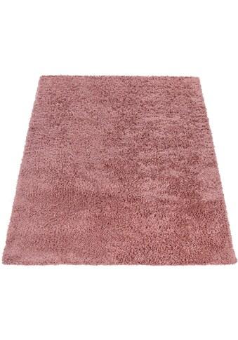 Hochflor - Teppich, »Twister 500«, Paco Home, rechteckig, Höhe 45 mm, maschinell gewebt kaufen