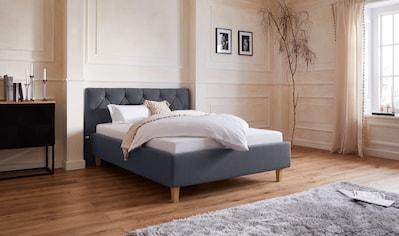 Guido Maria Kretschmer Home&Living Polsterbett »Sunley 100«, Kreuzsteppung im... kaufen