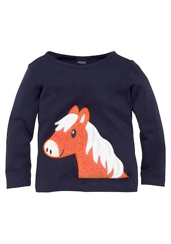 Arizona Langarmshirt »Interlockshirt« kaufen