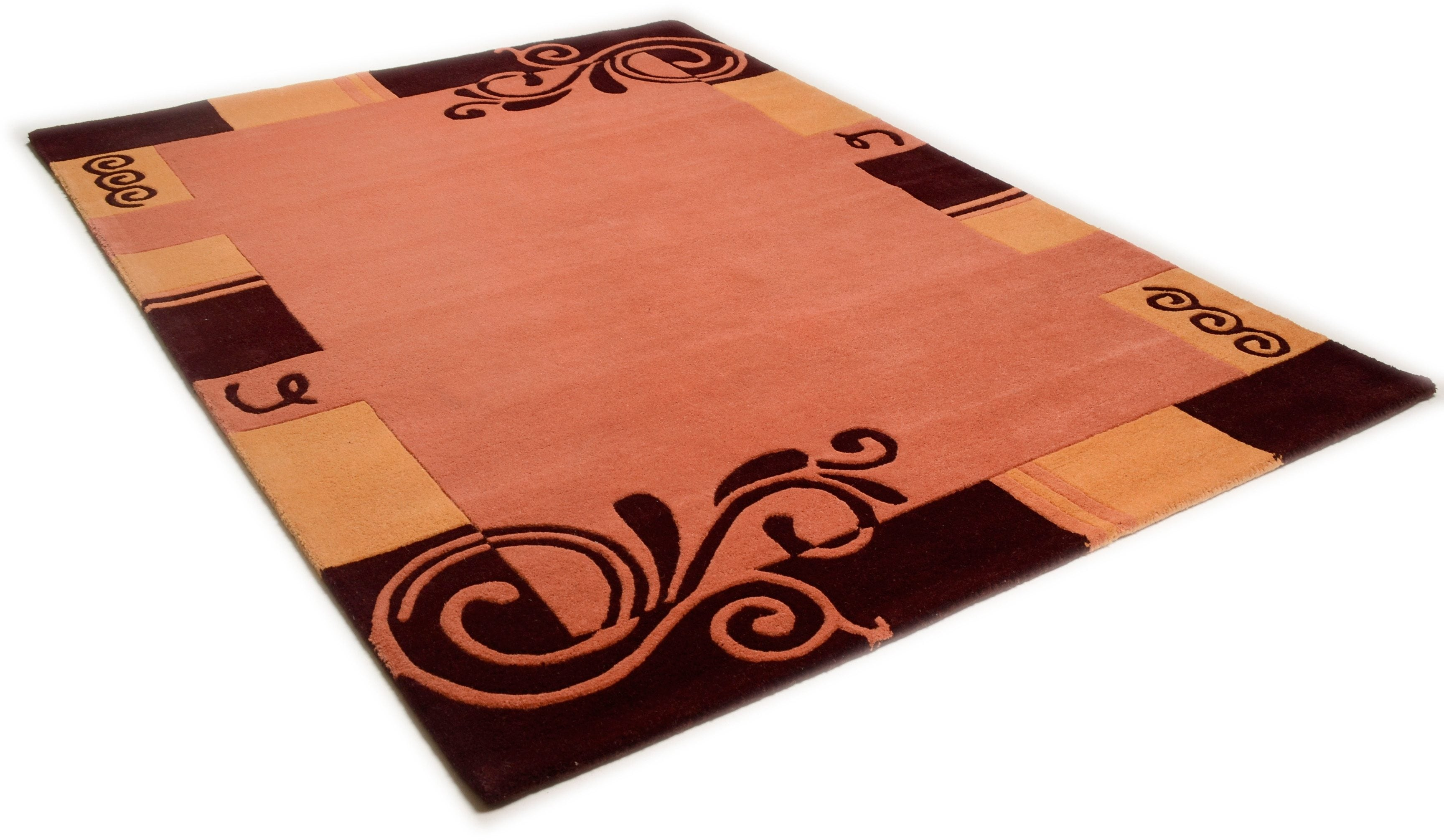 teppich hawai 6188 theko achteckig h he 14 mm. Black Bedroom Furniture Sets. Home Design Ideas