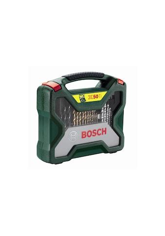 Bohr und Bitset, Bosch, »X - Line Titanium 50 - teilig« kaufen