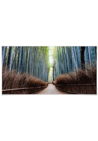 Wall-Art Poster »Bambushöhle Japan«, Höhlen, (1 St.), Poster, Wandbild, Bild, Wandposter kaufen