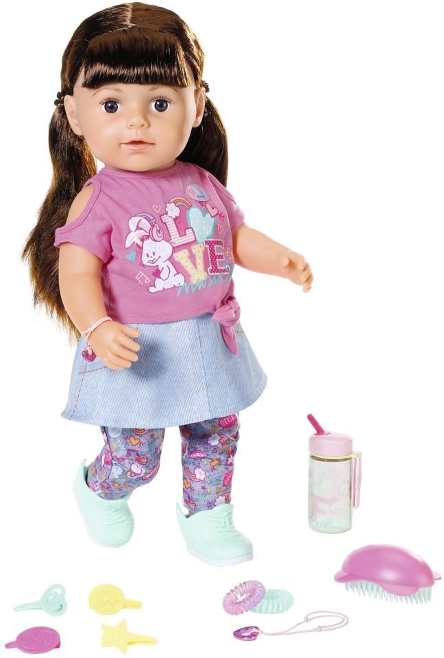 "Image of Baby Born Babypuppe ""BABY born® Soft Touch Sister 43ch, brünett"""