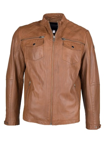 JCC Lederjacke »MPJ-539«, mit komfortablen Taschen kaufen